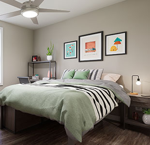 Contemporary, Furnished Apartments - Image 02
